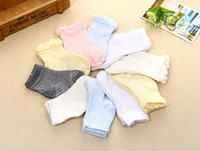 Wholesale Calcetines Baby - cute baby socks baby clothing newborn bebe meias baby boys girls net calcetines mesh Cotton sock