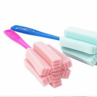 Wholesale Glass Cup Brush - Kitchen Cleaning Tool Simple and durable cleaning sponge brush cup convenient multi purpose glass mug brush cleaning brush