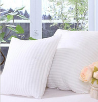 Wholesale Intertwined cotton cushions pillow core home sofa cotton wool mattress bed bed square stripes