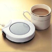 Wholesale Coffee Warming Pad - USB Warmer Gadget Cartoon Silicone Cup Warmer Coffee Tea Drink USB Heater Tray Mug Pad nice Gift