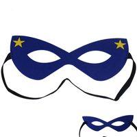 party augenmaske designs großhandel-103 Designs Halloween Cosplay Maske 2 Schicht Cartoon Filzmasken Eye Shade Kostüm Party Maskerade Augenmaske Studenten Kinder Performance Masken