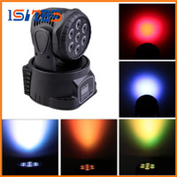 Wholesale Dj Stage Lights Equipments - Free shipping by express 7x10w RGBW 4 in 1led stage light mini led movinghead wash 7*10w led washStage light dj equipments