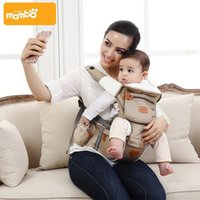 Wholesale Mambobaby Ergonomic in Baby Carrier Backpack Breathable Cotton Sling For Baby Wrap Rider Canvas Front Backpack