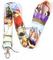 Wholesale Card Holder Straps - wholesale Cartoon Mobile Phone Necklace Strap Lanyards ID Card Holder we Will send DHL faster delivery Q41