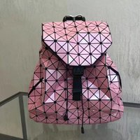 Wholesale Super Black Material - Young Girls fashion backpacks Acrylic Pearl material super flexible Checks double belts backpack or school bags crazy popular now