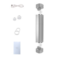 Wholesale apple iphone size - TWS K2 Twins Wireless Bluetooth V4.1 Stereo Headset Lipstick-Sized In-Ear Earphones for iPhone Samsung S8
