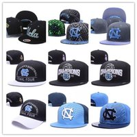 Wholesale Snapback Basketball Teams - 2017 North Carolina Fighting Irish Team Hats Shamrock Series College basketball Caps Hip Hop Snapback Gorras for Men Women Casquette