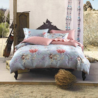 Wholesale Microfiber Quilt - 4 Piece Bedding Sets Classical Luxury Bed Sheets Soft Cotton Microfiber Printed Reversible High Quality Horse Bedding Sets Sheets Quilt Pill