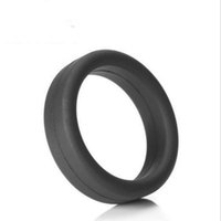 Wholesale Masturbation Penis Fun - 2017 NEW 100% Silicone Penis Rings Cock Ring Adult Products Delay Male Masturbation Health Fun Happy Sex Toys
