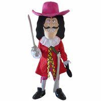 Wholesale Mascot Viking - 2016 New Vikings Pirate Captain Hook Mascot Costume Fancy Dress Adult Free Shipping