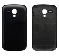 Wholesale Case Cover Duos S7562 - Back Cover Battery Door Case For Samsung GalaxyS Duos s7562 S7562 Battary Housing Cover Replacement+Logo Free DHL