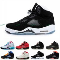 Wholesale Youth Hunting Boots - Kids Retro 5 Oreo Black White Grape Fire Red 5s Metallic Children Boys Girls Basketball Sport Footwear Sneakers youths Trainers Shoes