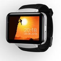 Wholesale Gps Tracker Lcd - DM98 Smart Watch MTK6572 Dual Core 2.2 inch HD IPS LCD Screen 900mAh Battery 512MB Ram 4GB Rom Android 4.4 OS 3G WCDMA GPS WIFI