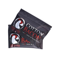 Wholesale Electronic Cigarettes China - Vapor Cotton Bacon V2 Made in china Pure Organic Cotton for electronic cigarettes DIY rebuid RDA RTA free shipping
