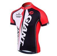 Wholesale Giant Shirts - VACOVE 2017 Summer Pro Team Giant Cycling jerseys Breathable Short sleeves Cycling Clothing MTB bike jerseys Ropa Ciclismo cycling shirt