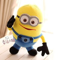 Wholesale Despicable Stuffed Animals - New Hot Despicable ME Movie Plush Toy Minion Minions plush toys Stuffed Animals & Plush Toys free shipping
