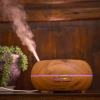 Wholesale Mini Cool Mist Humidifiers - 200ml Mini Ultrasonic Aroma Essential Oil Diffuser - BPA Free Cool Mist Aromatherapy Humidifier for Office,Home,Spa,Yoga