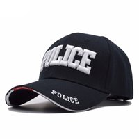 Wholesale Police Ball Caps - Wholesale Police Baseball Cap Men Tactical Cap Mens Baseball Caps Brand Snapback Trucker Hat For Man Women 100% cotton Material
