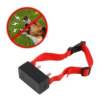 Wholesale Dog Pet Trainer - Anti Bark Electronic No Barking Dog Training Shock Control Collar Trainer Brand New Pet Collar