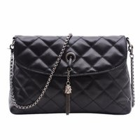 Wholesale Wholesale Quilted Leather - Wholesale- MOJOYCE Women Messenger Bags Quilted Leather Women Bag Chain Crossbody Handbags Women's Retro Shoulder Bag