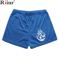 Wholesale High Weight Shorts - Wholesale- Riinr 2017 Summer New Arrival Men's Gyms Shorts High Quality Bodybuilding Clothing Men Fitness Weight Lifting Workout Mens Short