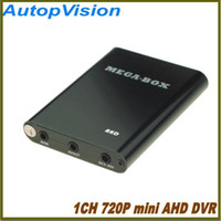 Wholesale Uk Cctv Camera - NEW HD 720P 1Ch Mini AHD DVR Car Bus Home Used 1 Channel CCTV DVR Motion Detect With Car CCTV Camera Real-time Support 128GB SD