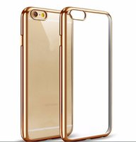 Wholesale mobile cell phone cover crystal for sale – best Mobile Phone Accessory Case Crystal Electroplating Clear TPU Cell Phone Back Cover Cases for iphone