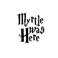 Wholesale Harry Potter For Sale - 2017 Hot Sale Personality Harry Potter Myrtle Was Here Funny Vinyl Decal Sticker For Toilet Home Decor Creative Stickers