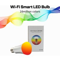 Wholesale WiFi Smart LED Light Bulb free APP Controlled Dimmable Multicolored Color Changing Lights Works with iPhone iPad Android Phone