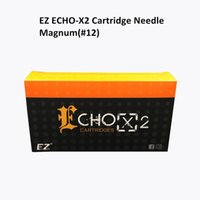 Wholesale Magnum Tips - New EZ ECHO-X2 Cartridge Tattoo Needle #12 Magnum with Clear Color Tip Update Generation of EZ White Needle Cartridge 20PCS Box