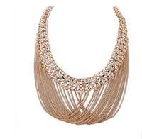 Wholesale collar necklace online - 2017 Hot Europe fashion brand Exaggerated restoring ancient ways women Collar necklace