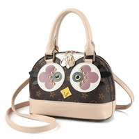 Wholesale Patchwork Owl Bags - Fashion cartoon owl shoulder Bag classic hot sell new women bags handbags small tote bags messenger bag Wholesale retail Free shipping