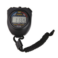 Wholesale Mini Digital Counters - High Quality New Digital Running Timer Chronograph Sports Stopwatch Counter With Strap