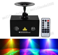Wholesale Laser Music Projector - New Music Laser Light, Aurora effect Star Projector, Combining Full Color LED Lighting, Wireless Remote Control and Sound Active MYY