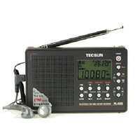 Wholesale Dsp Speakers - Wholesale-TECSUN PL-505 Digital PLL Portable Radio FM Stereo LW SW MW DSP Receiver