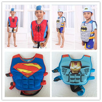 Wholesale Kids Fedex Suits - Summer Swimming Inflatable Floating Floor Water Air Mattress Kids Bathing Suit Swim Pool Children's Inflatable Cothing DHL Fedex Shipping