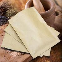 ingrosso sacchetto di carta marrone della chiusura lampo-Sacchetto d'imballaggio 100pcs / lot del regalo di imballaggio di chiusura lampo risigillabile del foglio di alluminio di 10-30cm Brown Kraft dei sacchetti di carta all'ingrosso