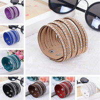 Wholesale Cheap Bangles For Men - womens mens bracelets Fashion Multilayer Wrap Bracelet for Women men's mans bracelet Woman Bangle bangles cheap Jewelry wholesale hot sell