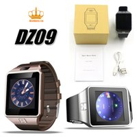Wholesale Mp3 Watch Phone - DZ09 smart watch for Apple android phone support SIM TF card MP3 smartwatch with camera Anti-lost pk gt08 A1