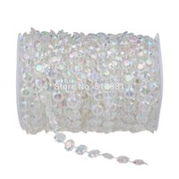 Wholesale Glass Door Beads - Wholesale-Fashion Style 12mm *20Meter Crystal Beads Curtain Handmade Crystal Glass AB Curtain Porch Partition Door Curtain Customized