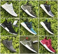 Wholesale Light Up Skull - NMD XR1 Runner Duck Camo X City Sock Green White Mastermind Japan Skull Pk Wool Boost Top quality Fashion Athletic Running Shoes Size 36-46