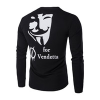Wholesale Vendetta Clothing - Wholesale- 2016 Spring Autumn For Vendetta Hooded Mens Hip Hop Hoodies Hoody Pullover Fleece Sweatshirts man Clothes Sportswear M-XXL ZT103