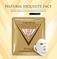 Wholesale Lift Up Face Mask - 40g Bioaqua Moisturizing Firming & Lifting Face Mask Ear Style 3D Lift-up Hydrating Face Slimming Facial Mask