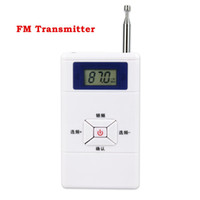 Wholesale converter pack - Mini FM Transmitter Personal Radio Station Stereo Audio Converter 70MHz-108MHz Portable Y4309B