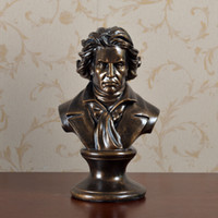 Wholesale Piano Ornament - European-style living room creative home piano table inspirational ornaments Beethoven ornaments musician avatar sculpture