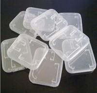 Wholesale Micro Sd Plastic Cases - Brandnew 1000 Pcs lot SD Memory Cards TF Micro SD Memory Card Plastic Case White proofwater Box 2017 New Arrival