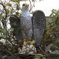 Wholesale Pest Scare - Zilin New Product! Bald Eagle Decoy for Pest Bird Scaring Garden Eagle Decoy