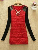 Wholesale Long Red Overcoat Down - Wholesale- 2016 new Fashion Women long Warm parka jacket , Autumn Winter Female Down Jacket Women Winter Coat Overcoat Padded Women coat
