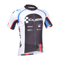 Wholesale Racing Bike Cube - 2017 Tour de France CUBE Pro Team Rock Bicycle Wear Maillot Cycling Jersey Clothing Ropa Ciclismo MTB Bike Cycle shirt Racing sportwear