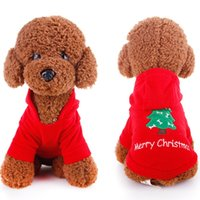 Dog Costumes Fall/Winter Chirstmas 5Pcs Brand New Christmas Pet Dog Cat Winter Clothes Puppy Warm Coat Four Legs Lovely Cloth Free Shipping[FSA0003*5]